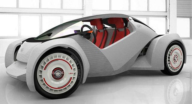 El primer auto impreso en 3D es una realidad