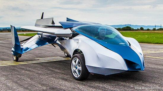 AeroMobil 3.0, un auto capaz de volar