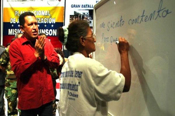 Hace 9 años Venezuela fue declarada Territorio Libre de Analfabetismo
