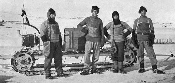 Antártica: Hallan diario de un explorador tras 100 años atrapado bajo el hielo