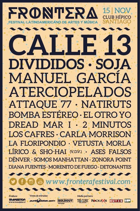 SOJA Invitado especial a festival Frontera