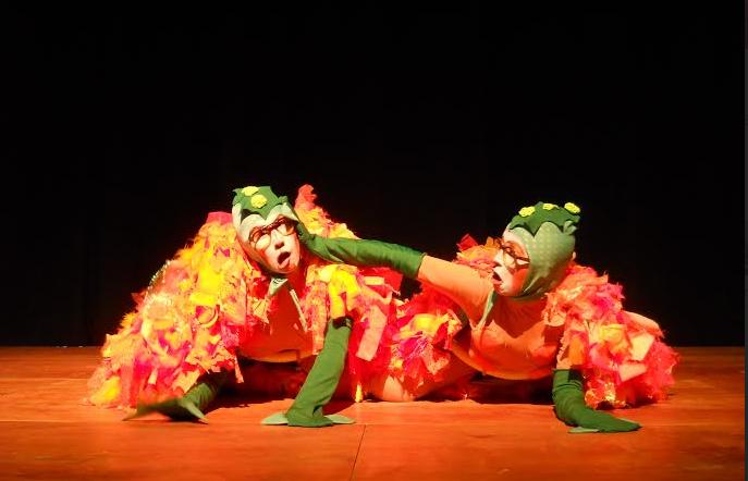 Teatro con conciencia medioambiental y danza de animales