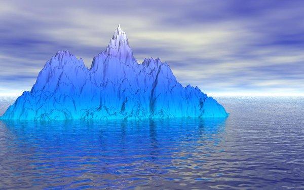 Punta Arenas: Expertos estudian el comportamiento de los icebergs en aguas antárticas
