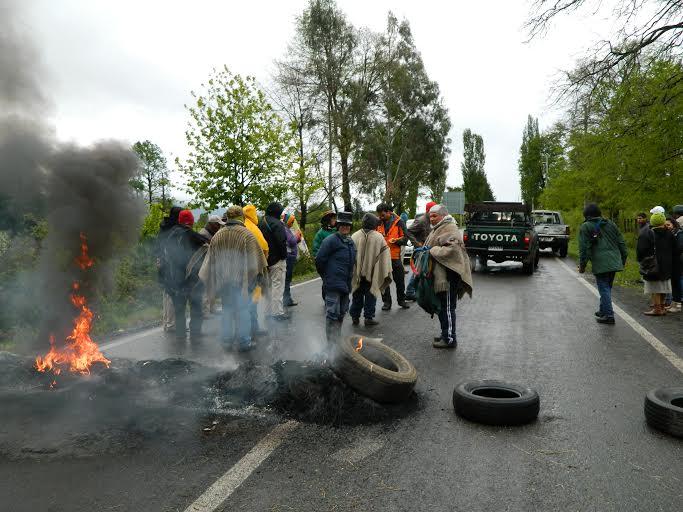 Melipeuco: Represión contra comunidades que rechazan hidroeléctricas y tendidos de alta tensión