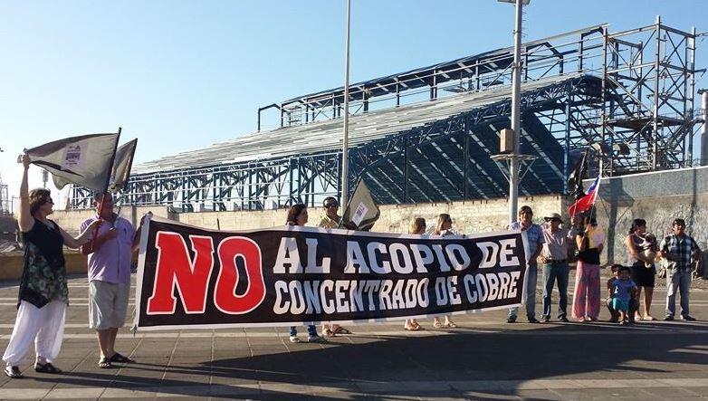Protestas ante traslado de concentrado de cobre de Minera Sierra Gorda