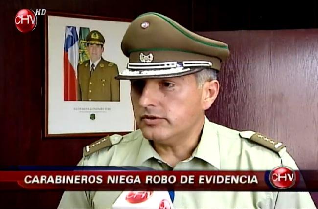 Carabineros pide derecho a réplica por caso de cogoteo a asaltante
