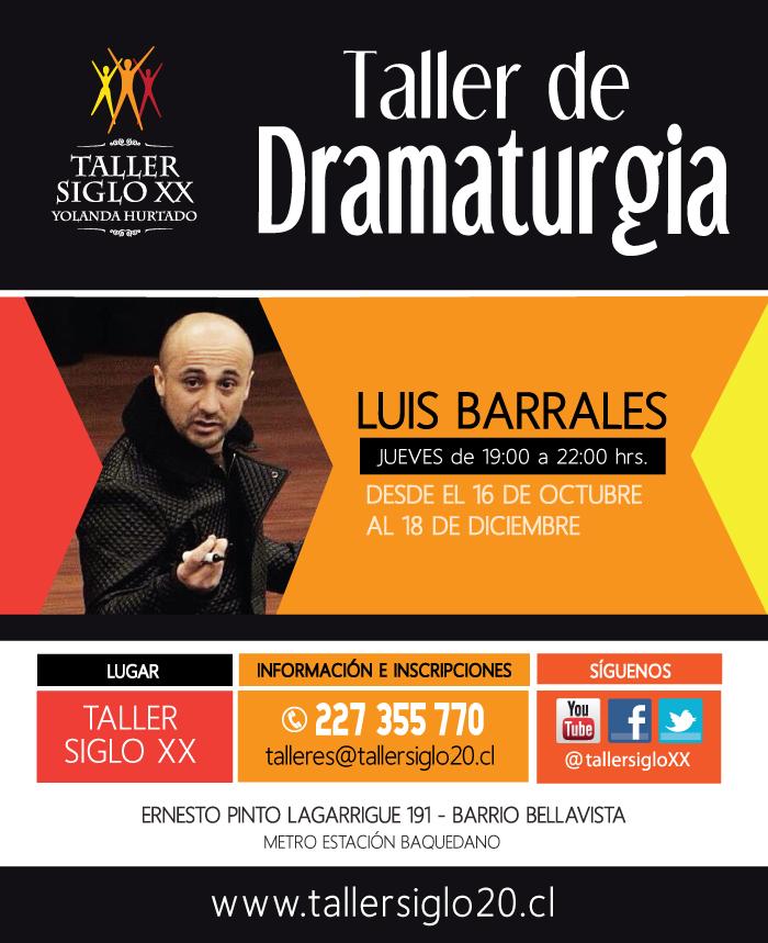 Taller de dramaturgia de Luis Barrales