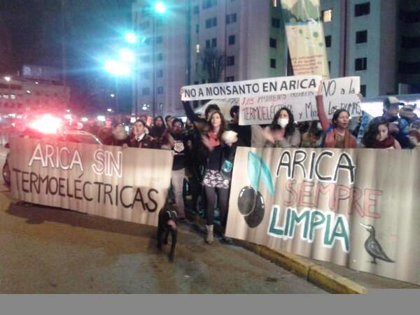 Ariqueños reiteran su rechazo a termoeléctrica en Cerro Chuño y funan a inversionistas