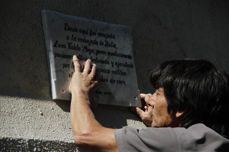 Lumi Videla, símbolo de la ferocidad de la dictadura fue recordada en la Embajada de Italia