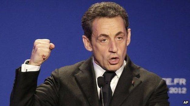Francia: Sarkozy declara por irregularidades en financiación de campaña política