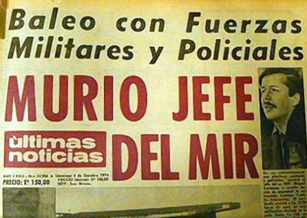 Reconstitución de escena de muerte de Miguel Enríquez está confirmada, para determinar si falleció en un enfrentamiento o si fue ejecutado