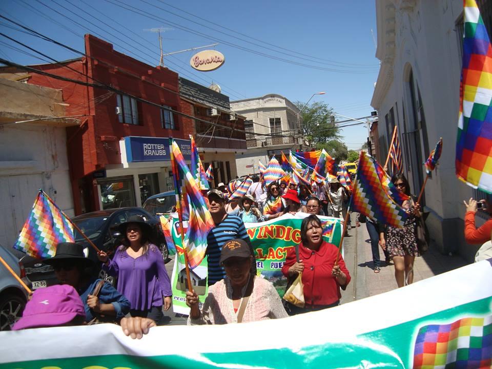 Pueblos originarios marcharon en Calama por la derogación de los decretos 66 y 40