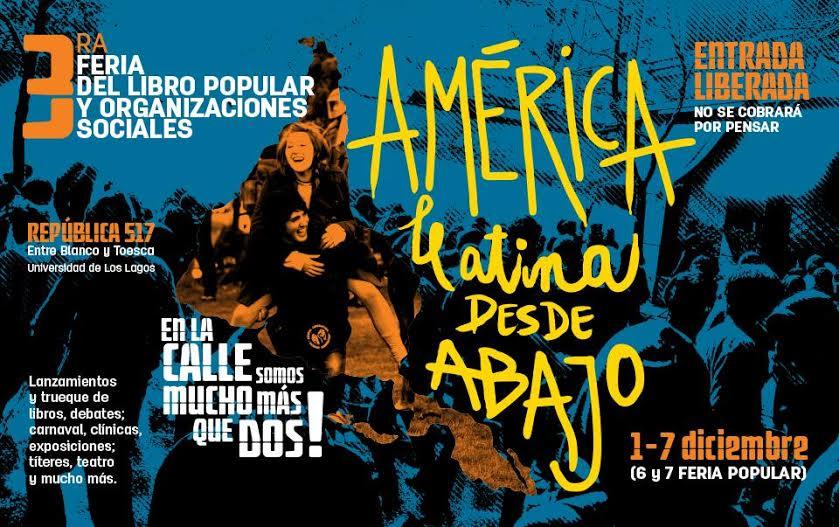 Ya comenzó el festival América LeAtina desde abajo