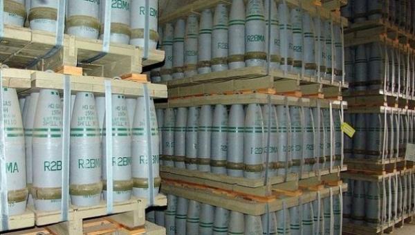 Último arsenal químico sirio será destruido en 2015