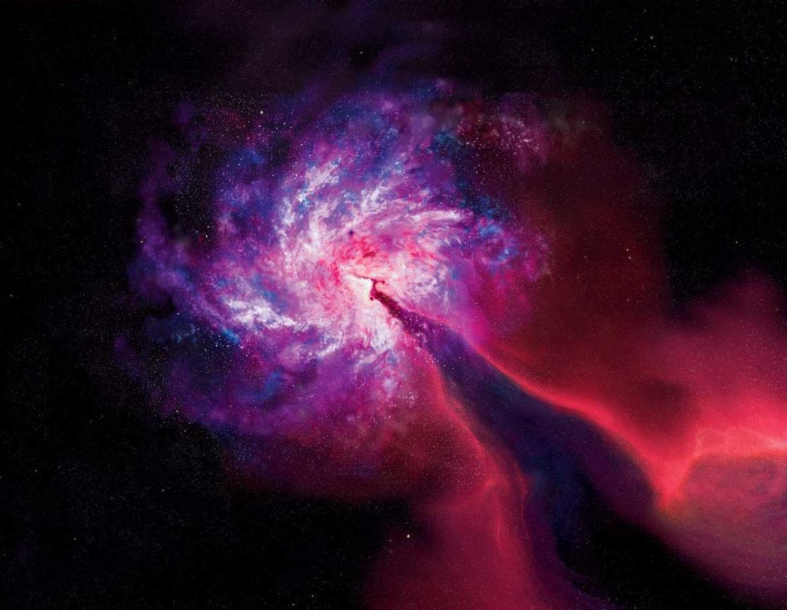 Universo se está acelerando por efecto de una energía desconocida que llamaron energía oscura.