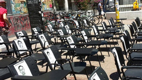 Uruguayos marcharán hoy por los estudiantes de Ayotzinapa