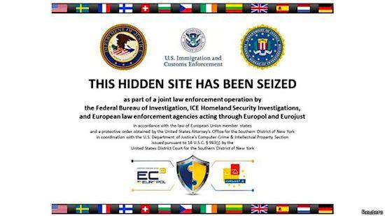 Operación cierra webs de venta de armas y abuso infantil