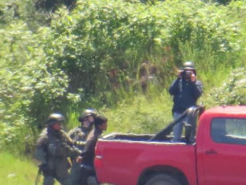 Comunidad mapuche de Malleco denuncia amenazas de miembros del GOPE