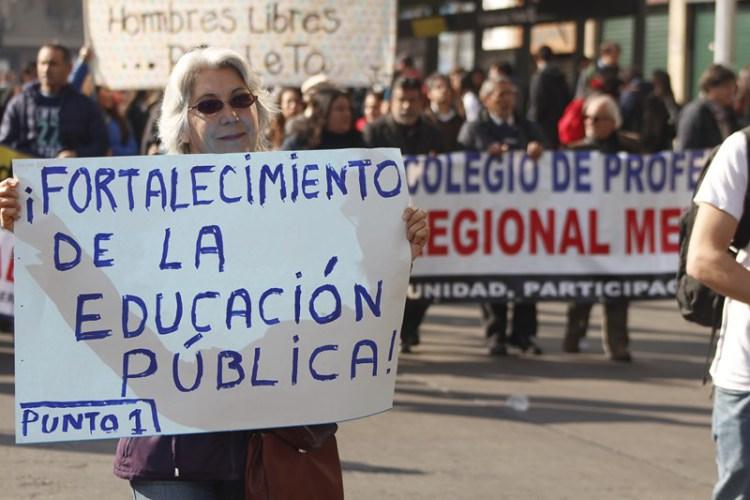 Corriente Popular de Educación: Una movilización para instalar los problemas de fondo