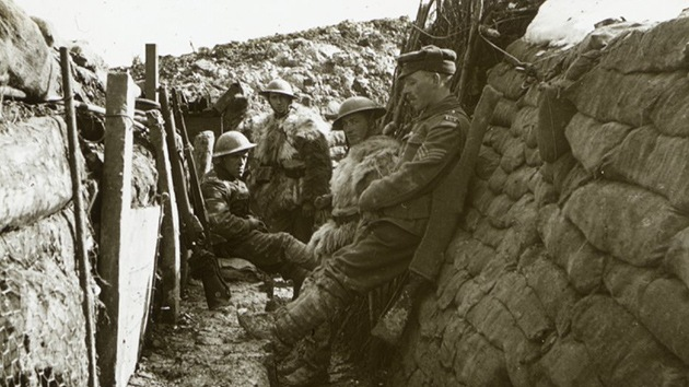 Fotos: Descubren imágenes nunca vistas de la Primera Guerra Mundial
