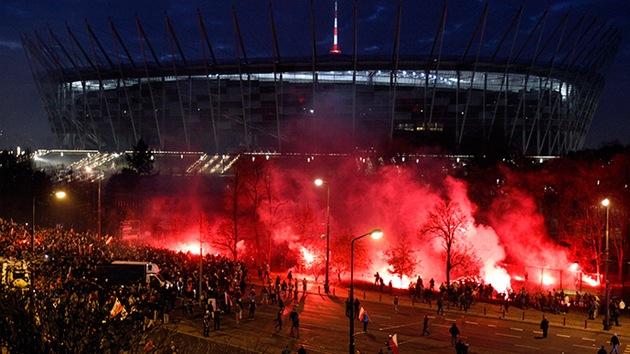160 detenidos en Varsovia en una marcha del Día de la Independencia polaca
