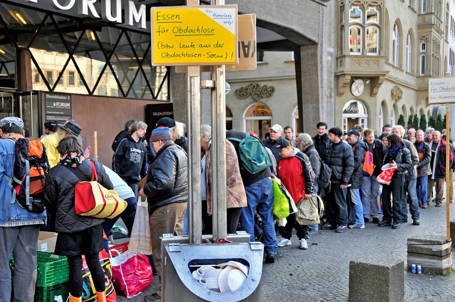 1 de cada 5 alemanes es pobre o está excluido socialmente
