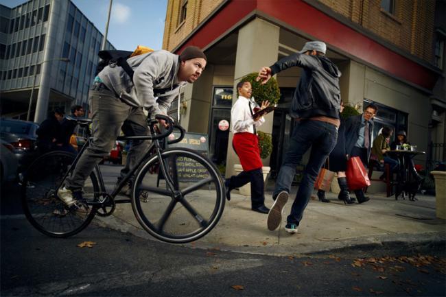 Amazon aparca los drones para montar en bicicleta