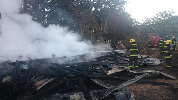 Acusan intencionalidad en incendio a casa de Comunidad Autónoma de Temucuicui