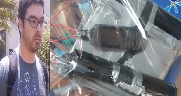 Estudiantes de la UMCE acusan que Carabinero infiltrado portaba celular con fotos de una bomba