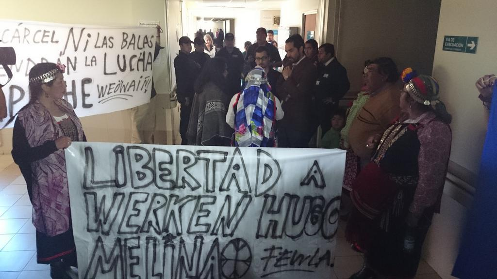 Fuerzan a comunero Hugo Melinao a someterse a examen de ADN: «Hoy se tortura con autorización»