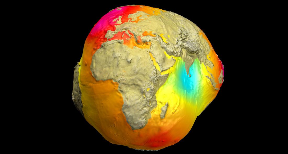 La gravedad no es la misma en toda la Tierra