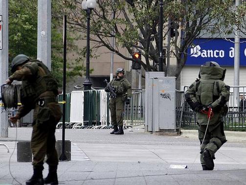Operativo policial por aviso de bomba en SubCentro de Escuela Militar