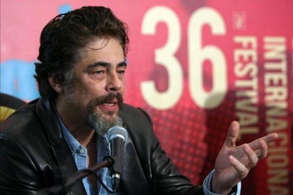 Benicio del Toro: «Pablo Escobar fue un talento perdido, extraviado»