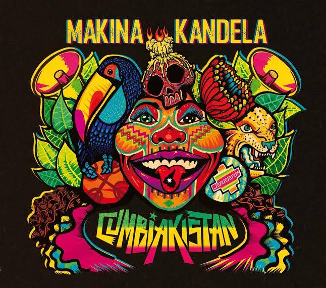 Makina Kandela lanza su nuevo disco Cumbiakistan