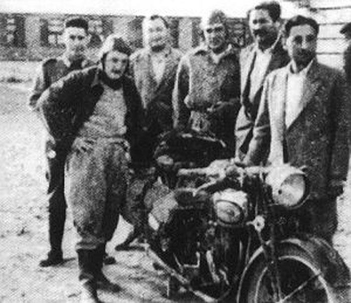 Mítico viaje en moto por la huella del Che en Cuba