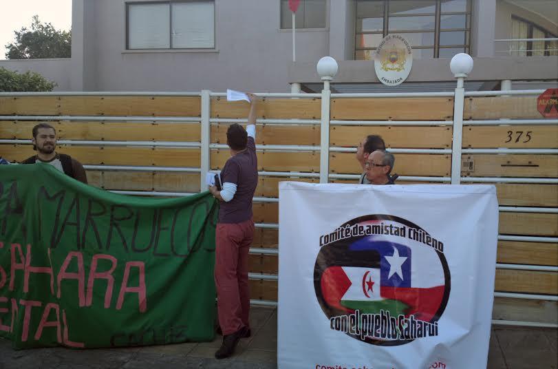 Denunciar la invasión de casi 40 años del reino de Marruecos contra el Pueblo del Sahara Occidental