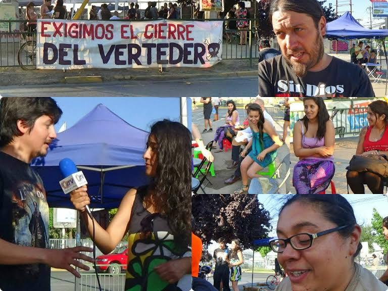 Vecinos de Quilicura siguen luchando por cierre de ex vertedero Cerros de Renca