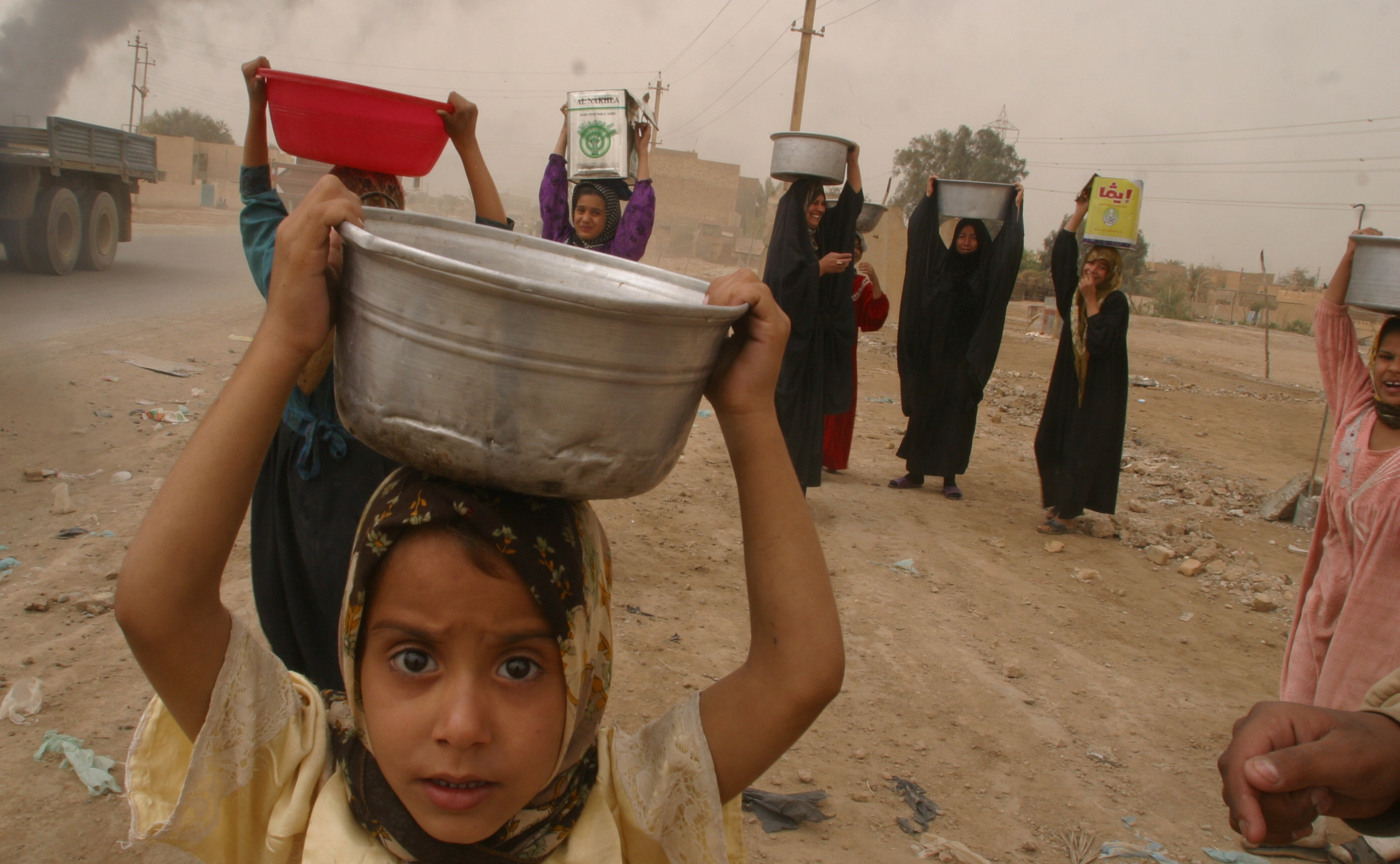Los niños en Irak: la ONU expresa su preocupación