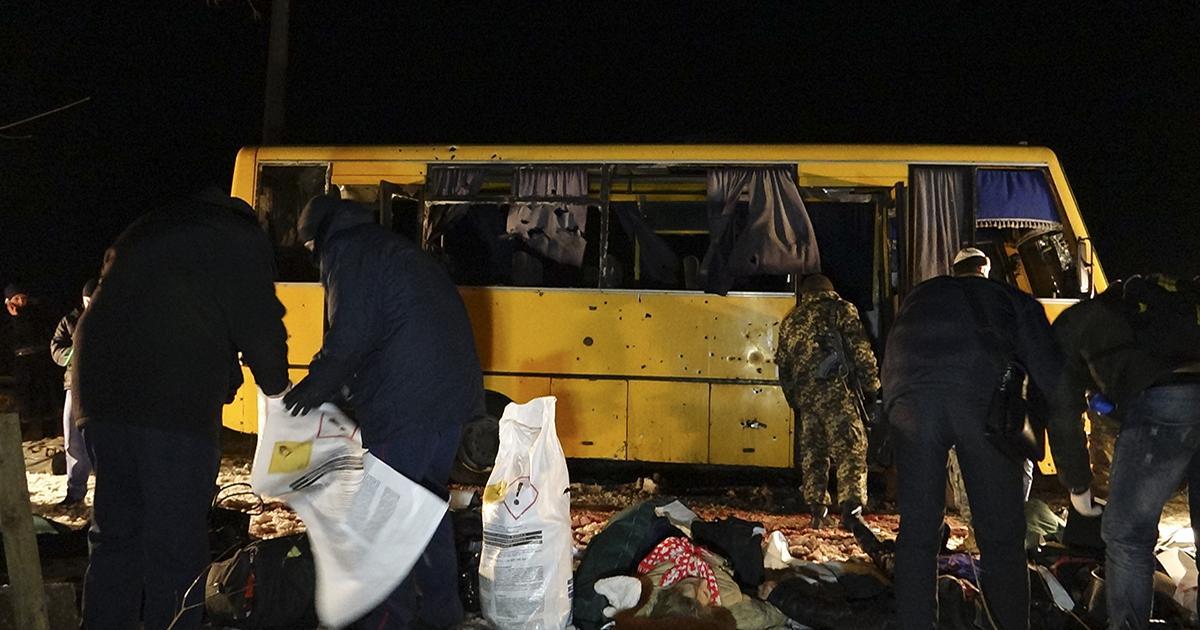 La ONU condena ataque contra un bus en la región ucraniana de Donetsk