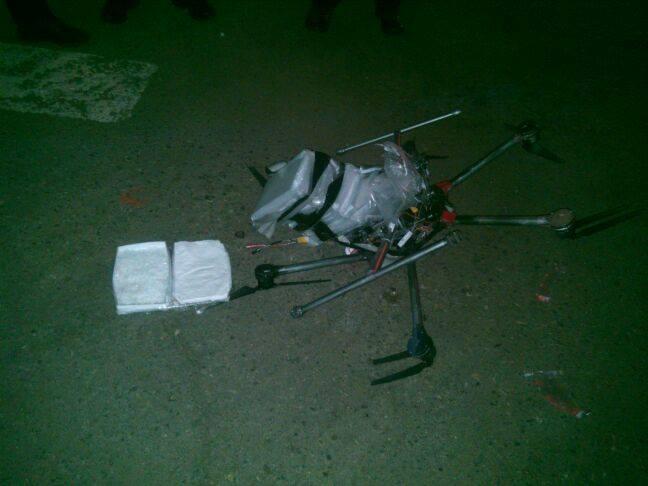 Nueva utilidad para drones: el transporte de droga