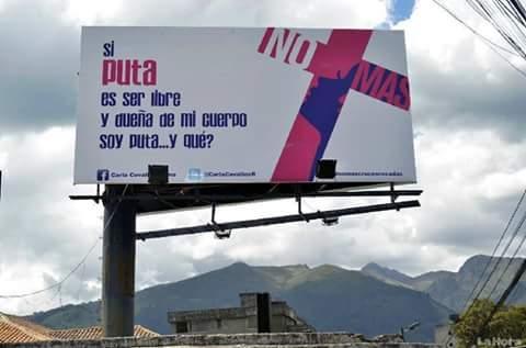 Campaña para prevenir feminicidios genera enorme controversia en Ecuador