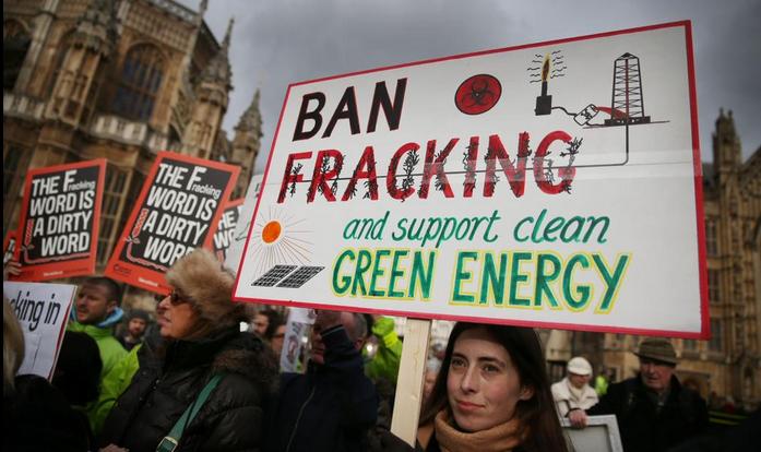 Londres se manifiesta en contra del Fracking