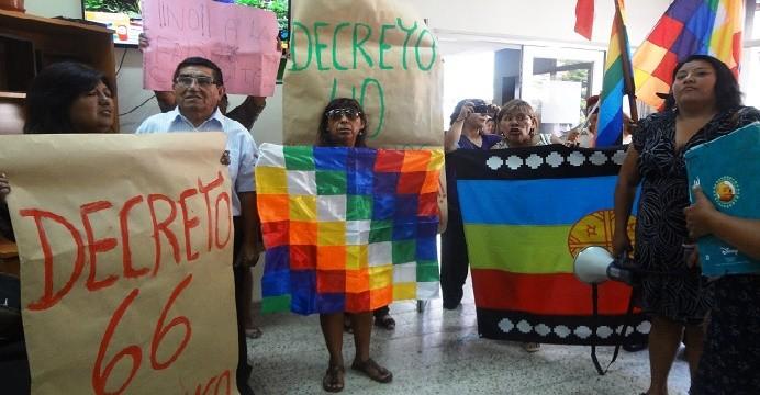 Crece rechazo a consulta indígena: Pueblos originarios irrumpen en Ministerio de Desarrollo Social de Arica