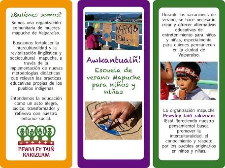 Valparaíso: El lunes arranca la primera Escuela de Verano Mapuche