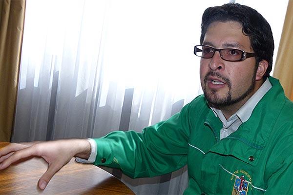 Fernando San Román: a quienes somos jóvenes y estamos en política se nos ningunea bastante.