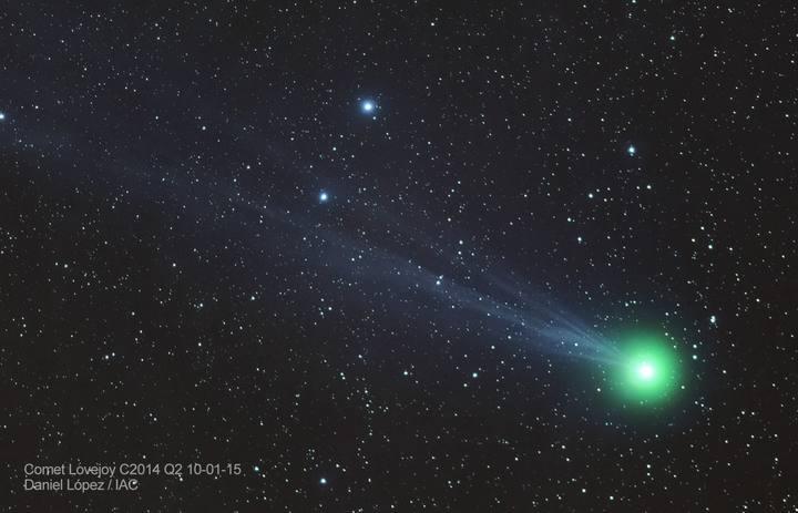 ¿Quieres ver un cometa genial? Ven a la Star Party en Monte Patria