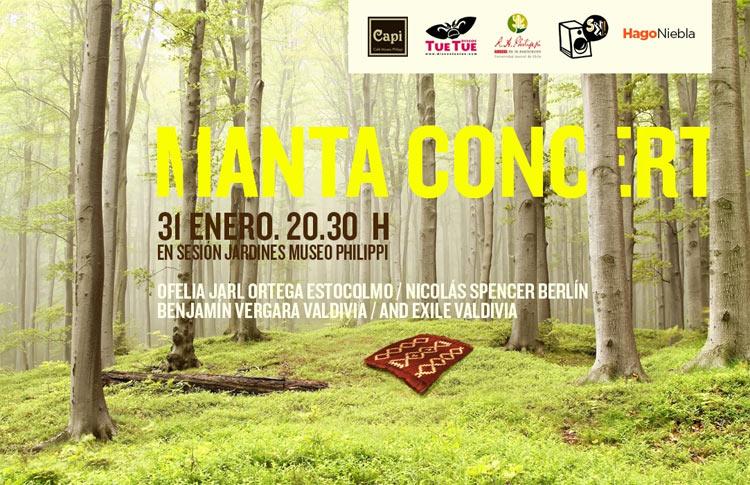 Manta Concert: Un recital experimental en el museo y gratis