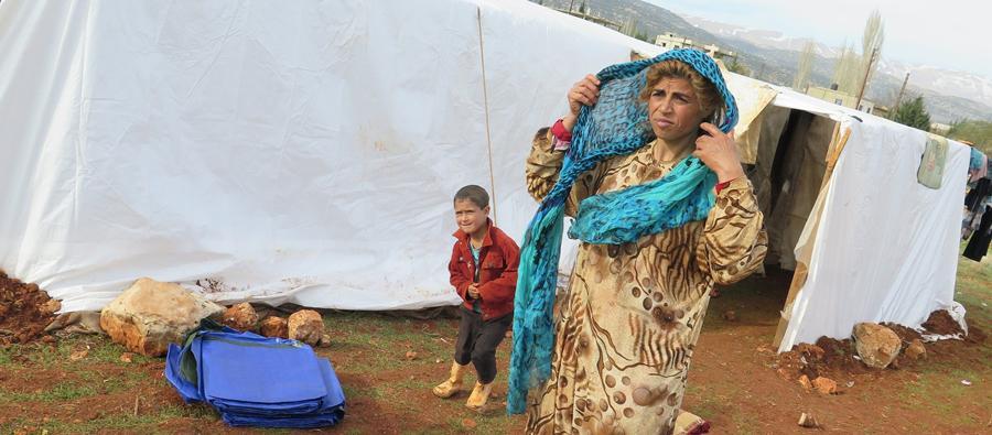Refugiados sirios en Líbano: un invierno más lejos de casa