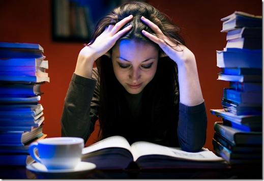 Pasar de largo estudiando no te ayudará a pasar el examen