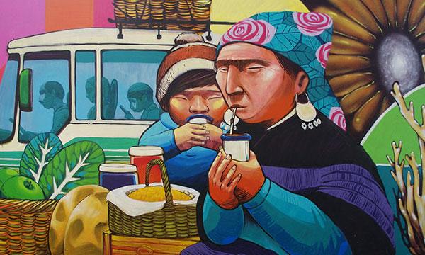 Temuco: Despojan a familias mapuche y campesinas de sus puestos de trabajo en feria Pinto
